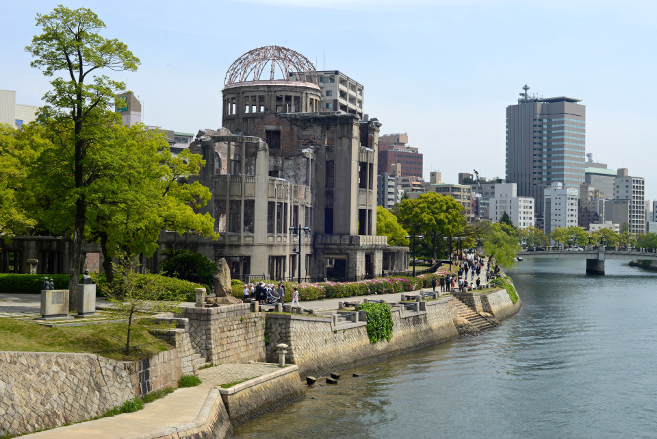 a-bomb dome in hiroshima