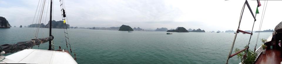 Bai Tu Long Bay, Ha Long Bay, Vietnam - April 2015